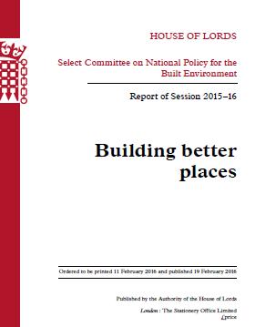 Building Better Places