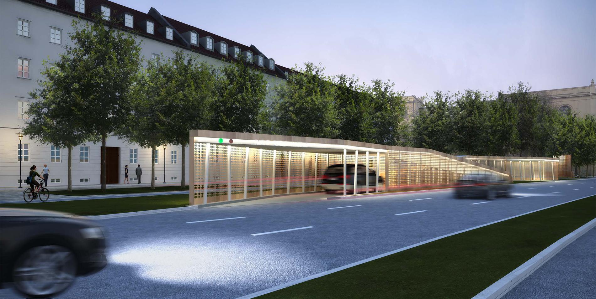 Design of basement car parking - Flip Car Park