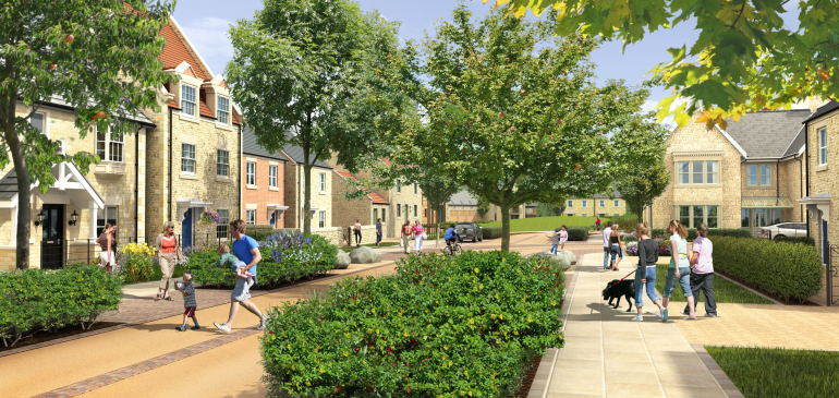 Dissington Garden Village – Exemplar Design